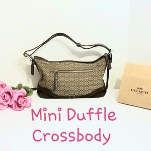 💯 Authentic Coach Mini Duffle Bag G0785-F10945